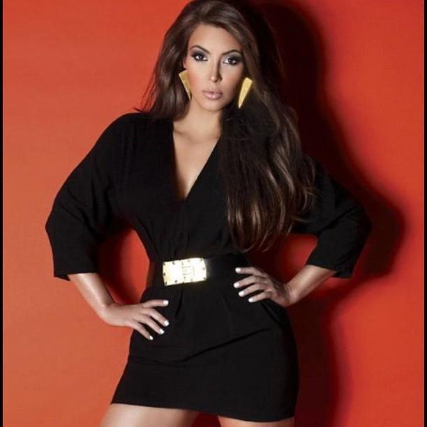Kim, femme des années 80