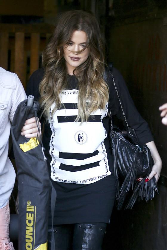 Khloé Kardashian à Los Angeles le 16 octobre 2014