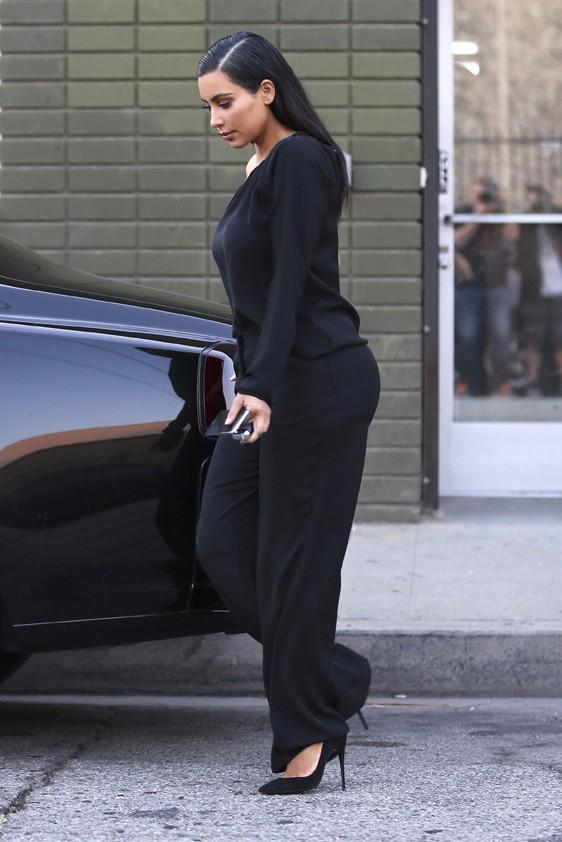 Kim Kardashian à Los Angeles le 16 octobre 2014