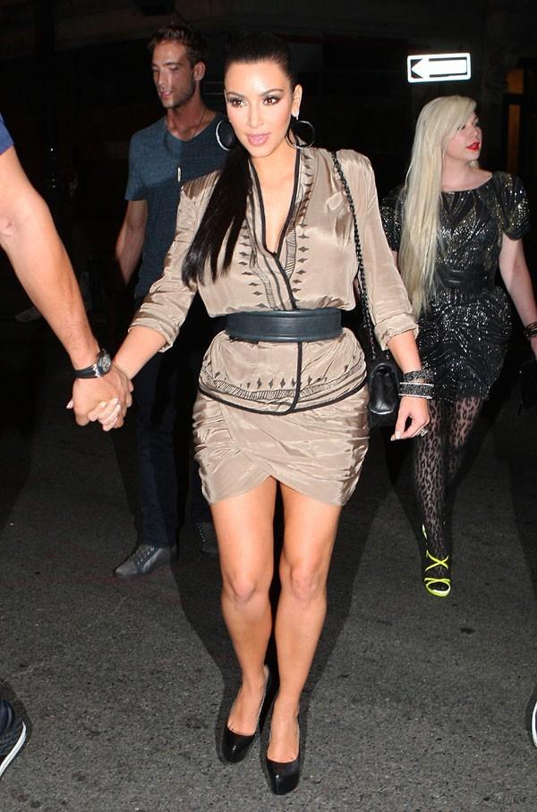 Kim a fait dans le court et le brillant !