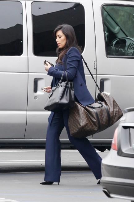 Kim Kardashian le 5 février 2013 à Los Angeles