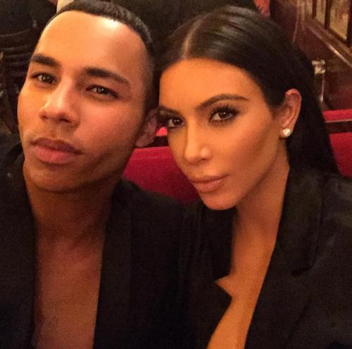 Photos : Kim Kardashian : surprise ! Elle déballe son décolleté à Paris !