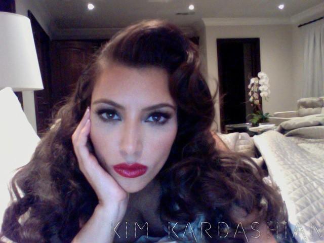 Le make-up aussi fait très rétro !