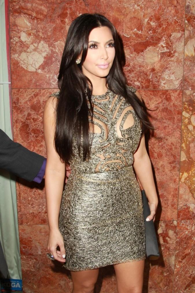 Kim Kardashian lors du défilé Sherri Hill à New York, le 14 septembre 2011.