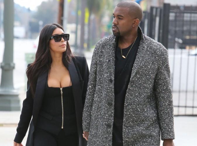 Kim Kardashian très sexy pour un déjeuner pas vraiment joyeux avec Kanye !