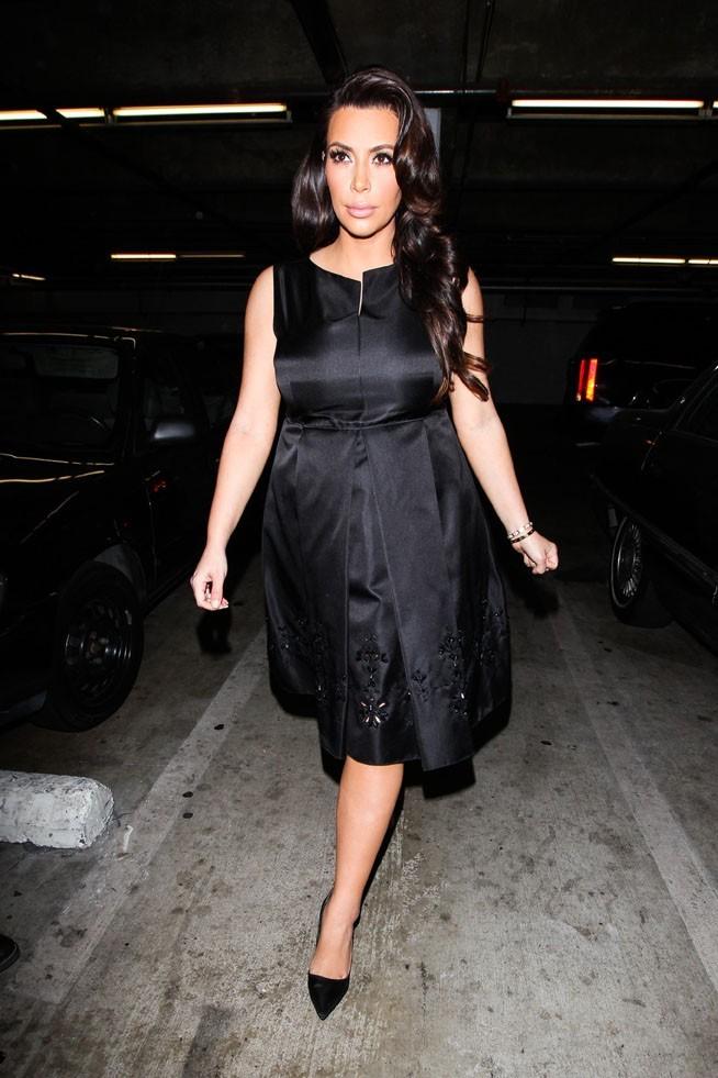 Kim Kardashian en visite chez son docteur à Beverly Hills le 19 avril 2013