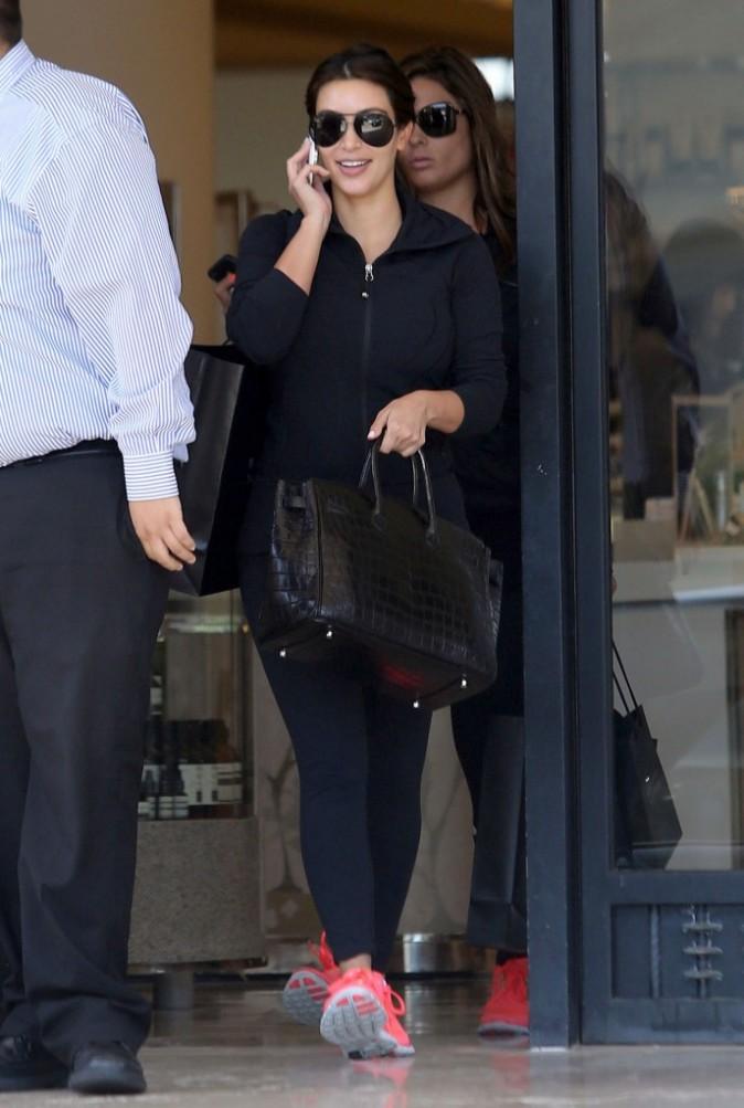 Kim Kardashian, Beverly Hills, 4 août 2012.