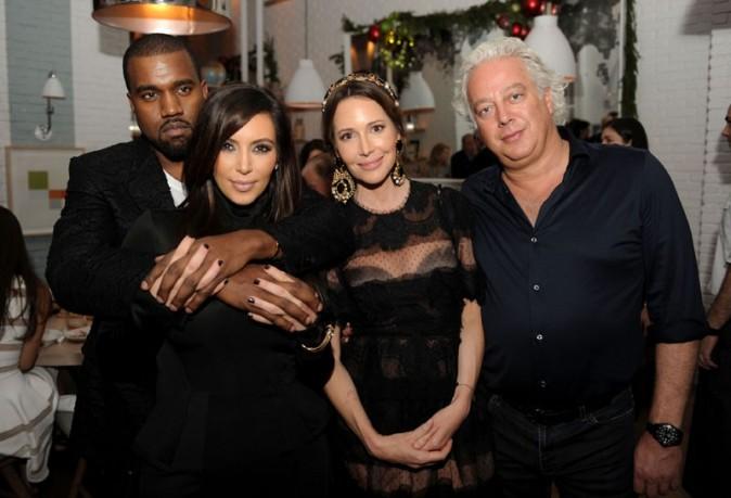 Kanye West et Kim Kardashian à Miami le 6 décembre 2012