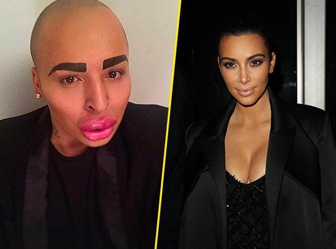 Photos : Kim Kardashian : un homme dépense 150 000 dollars pour tenter de lui ressembler !