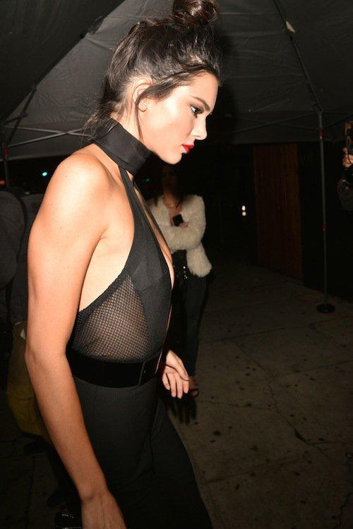 Kendall Jenner à Los Angeles, le 2 novembre 2015