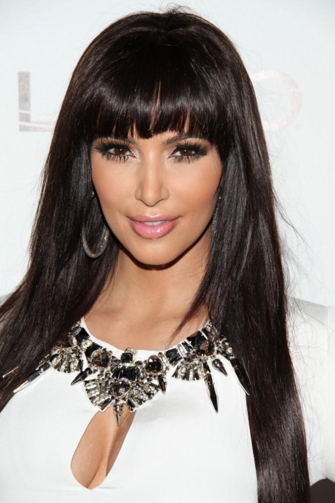 Kim Kardashian au Tao Club à Las Vegas, le 31 décembre 2011.
