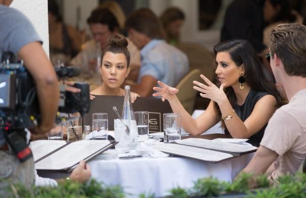 Kim Kardashian, Miami, 3 novembre 2012.