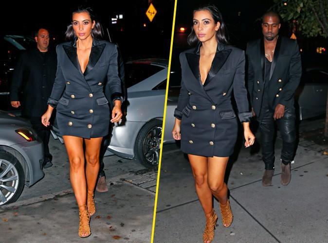 Kim Kardashian et Kanye West le 6 novembre 2014