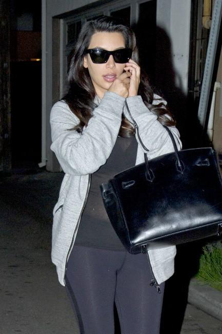 Kim Kardashian le 30 janvier 2013 à Los Angeles