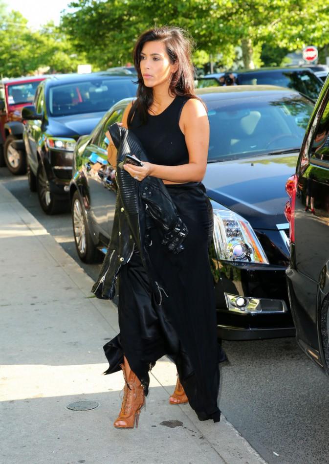 Kim Kardashian à Sag Harbor le 28 juin 2014