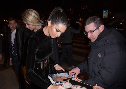 Kendall Jenner à l'after show Balmain à Paris, le 5 mars 2015 !