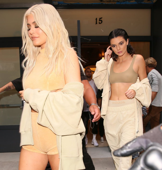 Kylie et Kendall Jenner à New York le 7 septembre 2016