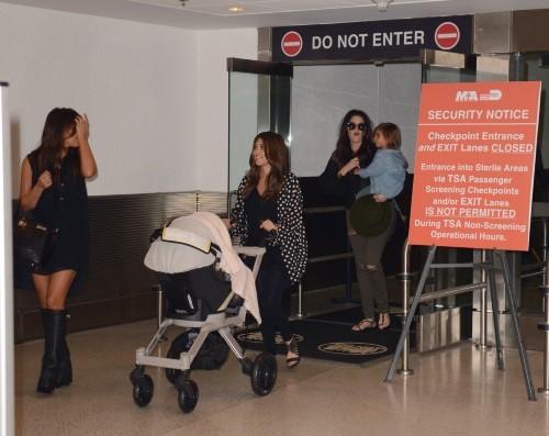 Kim, Khloe et Kourtney Kardashian, Miami, 15 septembre 2012.