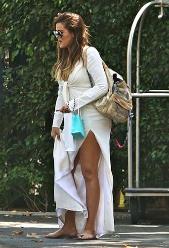 Khloé Kardashian à Los Angeles le 1er septembre 2014