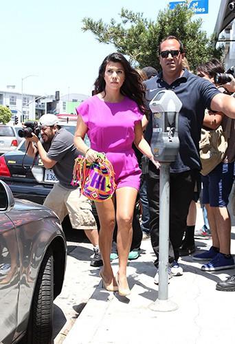Kourtney Kardashian à Los Angeles le 23 juin 2014