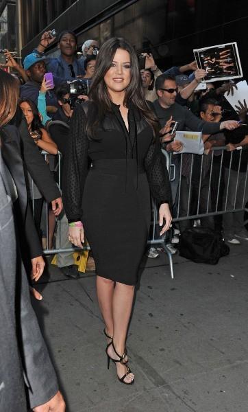 Khloe Kardashian à New York, le 13 septembre 2012.