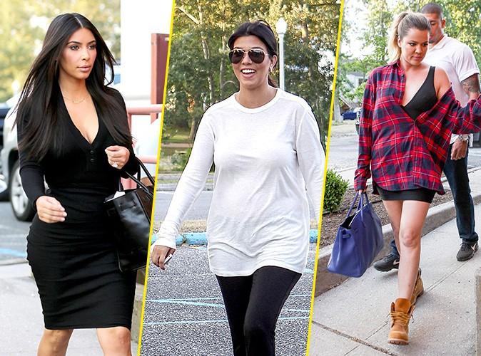 Photos : Kim, Kourtney et Khloé Kardashian : virée familiale au cinéma !