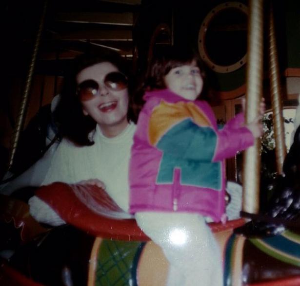 Kourtney Kardashian et sa grand-mère
