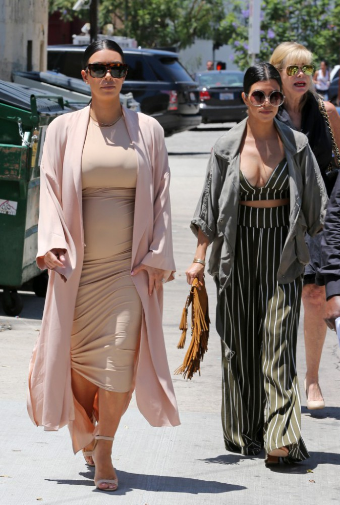 Kourtney Kardashian le 26 juillet 2015