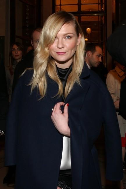 Kirsten Dunst le 4 mars 2013 à Paris