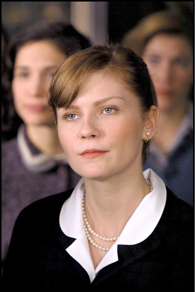 Kirsten ne sourit pas vraiment dans le sourire de Mona Lisa...