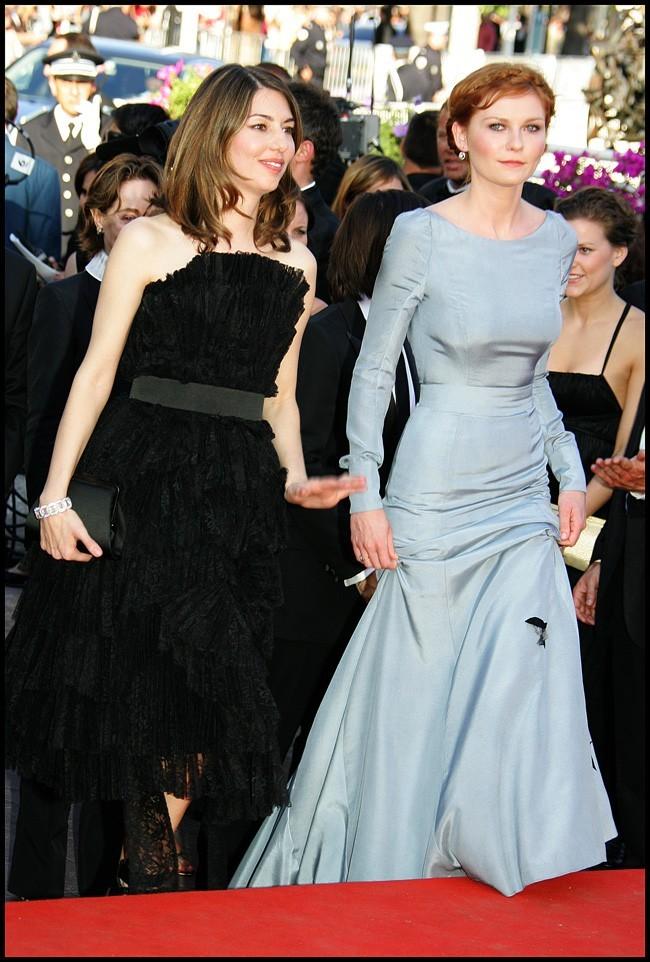 La réalisatrice Sofia Coppola et sa muse à Cannes 2006