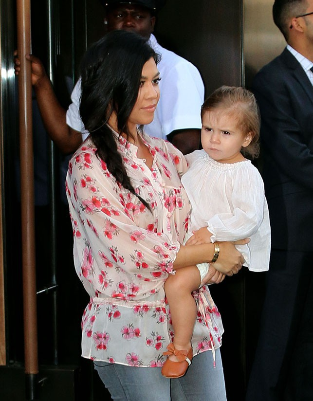 Kourtney Kardashian à New-York le 2 juin 2014