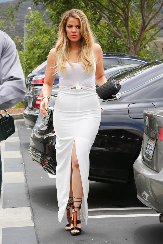 Khloé Kardashian à Agoura Hills le 21 juillet 2015