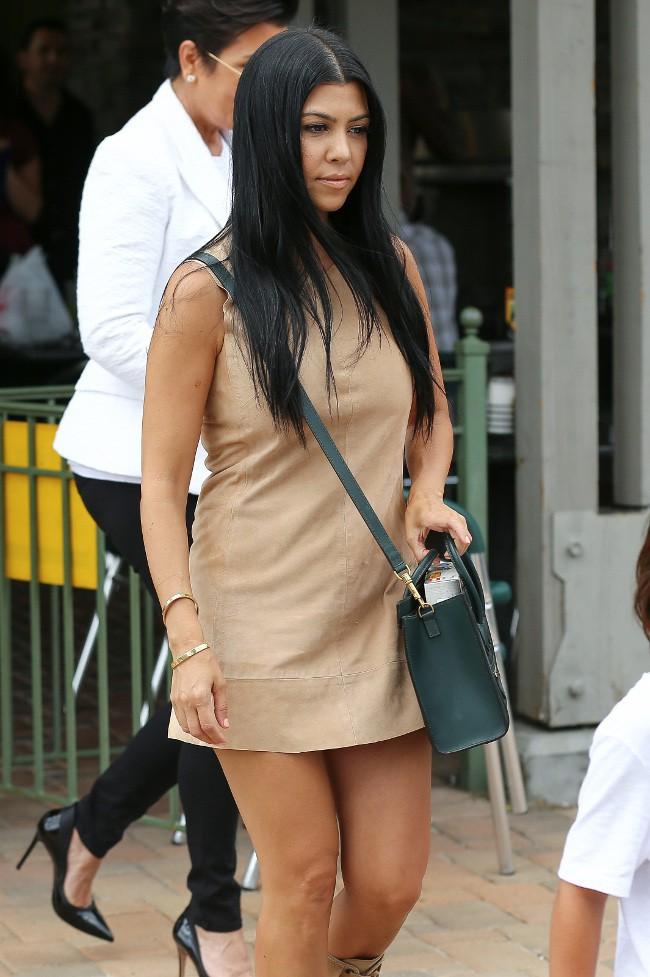 Kourtney Kardashian à Agoura Hills le 21 juillet 2015