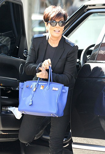 Kris Jenner à West Hollywood le 17 octobre 2013
