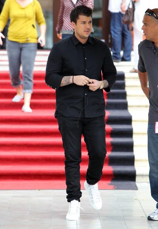 Rob Kardashian à Miami, le 10 décembre 2012.