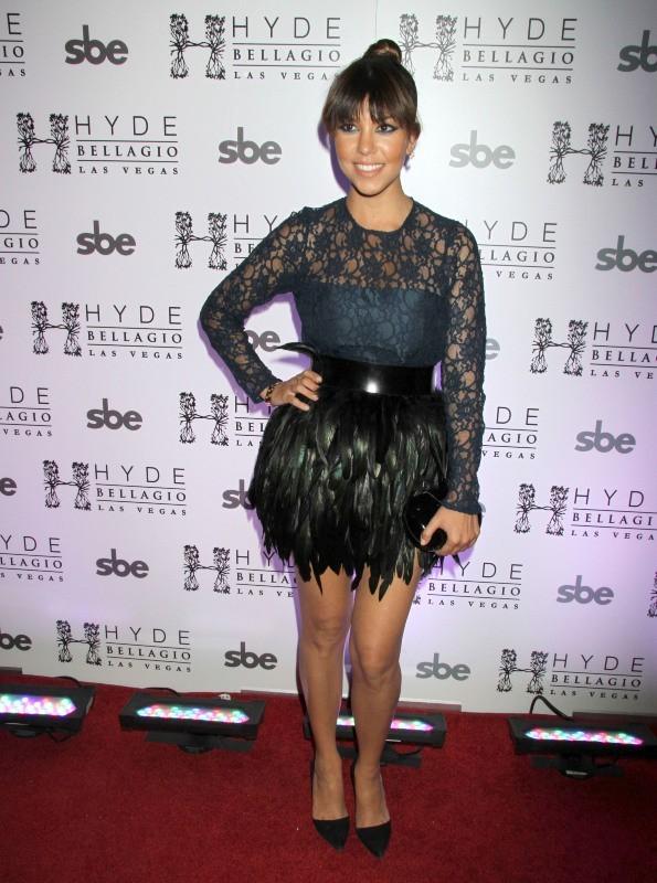 Kourtney Kardashian le 26 mai 2013 à Las Vegas