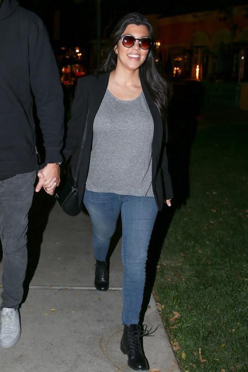Photos : Kourtney Kardashian : amoureuse de Scott Disick elle dévoile une nouvelle photo de Reign Aston !