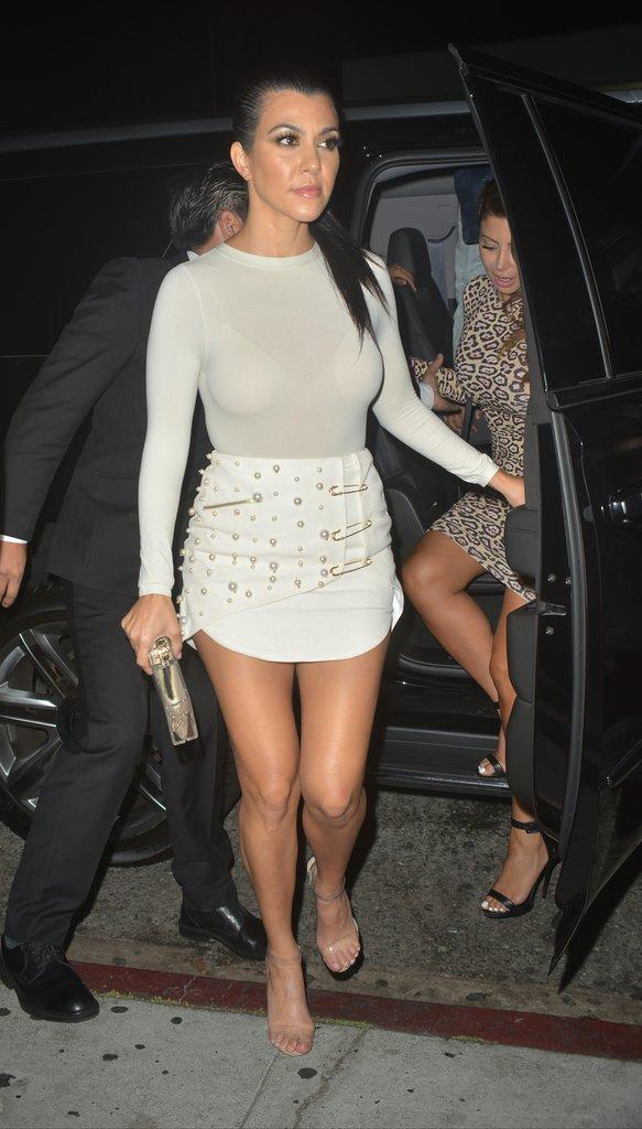 Kourtney Kardashian à Los Angeles le 28 juin 2016