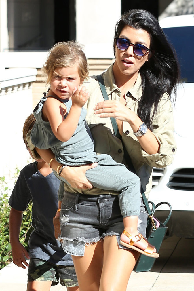 Kourtney Kardashian le 11 octobre 2015