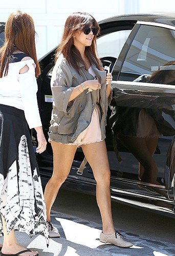 Kourtney Kardashian à Beverly Hills le 21 août 2013