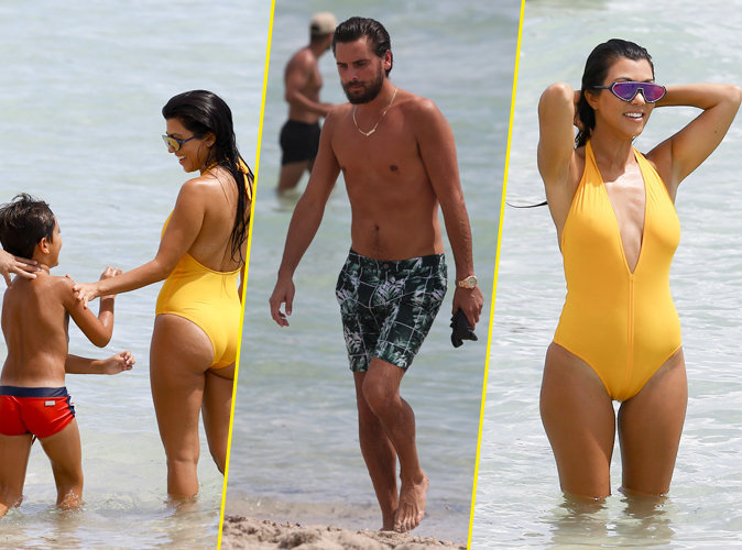 Photos : Kourtney Kardashian: corps de rêve en maillot, sur les plages de Miami