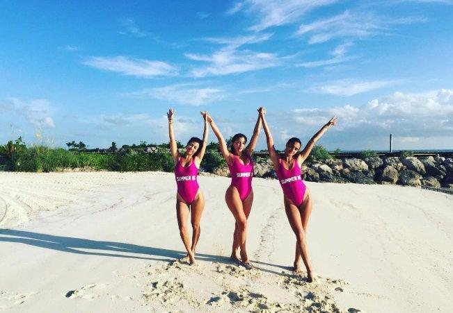 Des vacances entre BFF pour Kourtney Kardashian