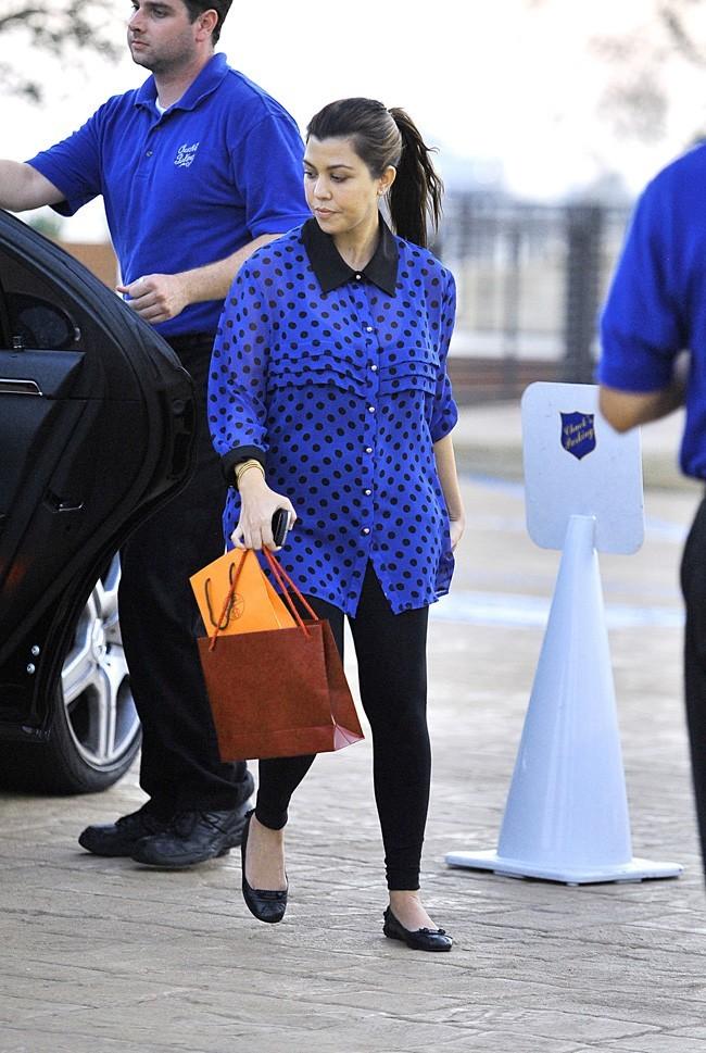 Kourtney Kardashian le 11 août 2012 à Malibu
