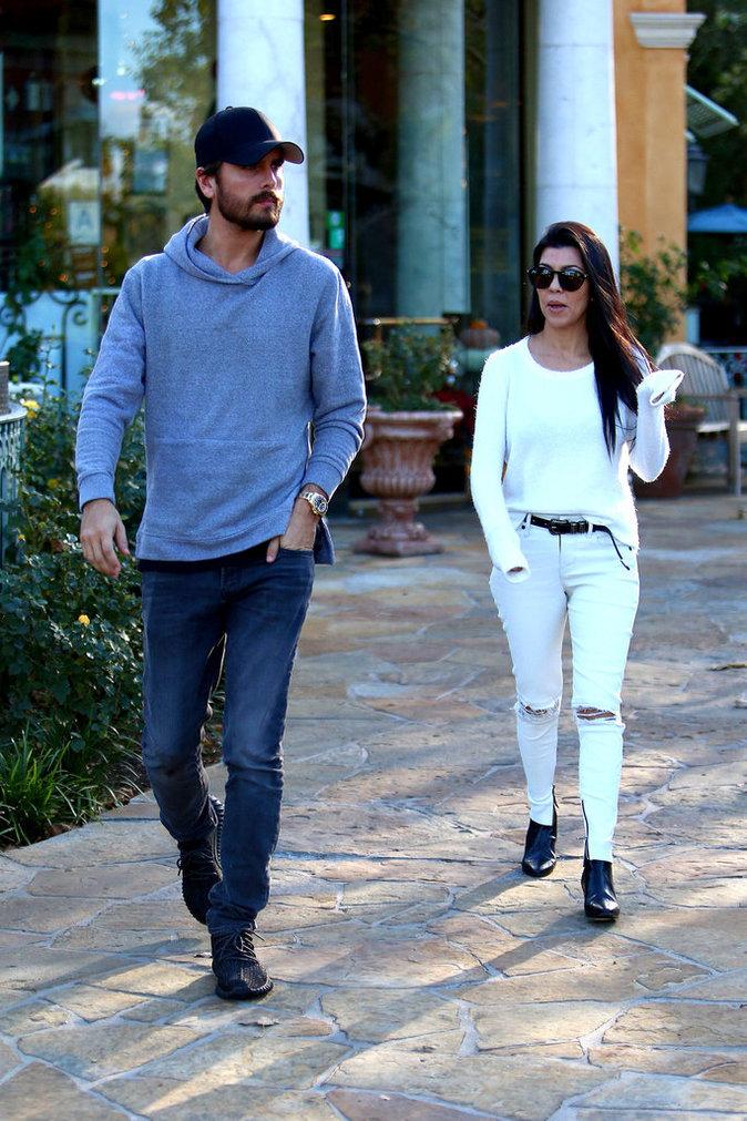 Photos : Kourtney Kardashian et Scott Disick : c'est reparti pour un tour !