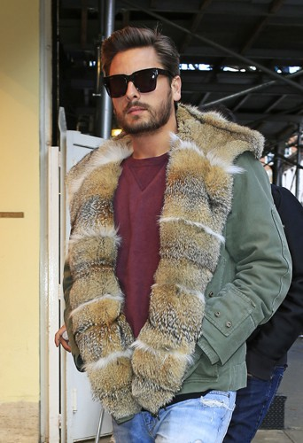 Scott Disick à New-York le 24 février 2014