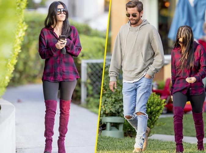 Photos : Kourtney Kardashian et Scott Disick : sur la voie de la réconciliation ?