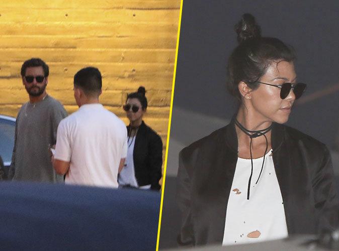 Photos : Kourtney Kardashian et Scott Disick : un retour de flamme ?