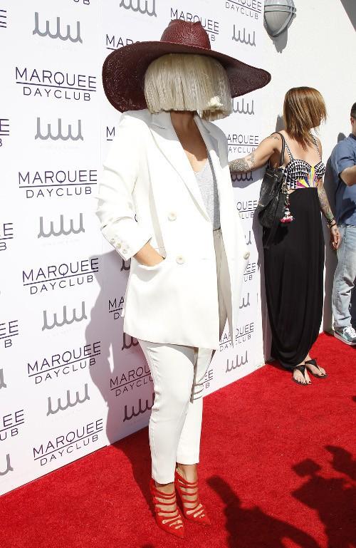 Sia à Las Vegas le 21 mars 2015