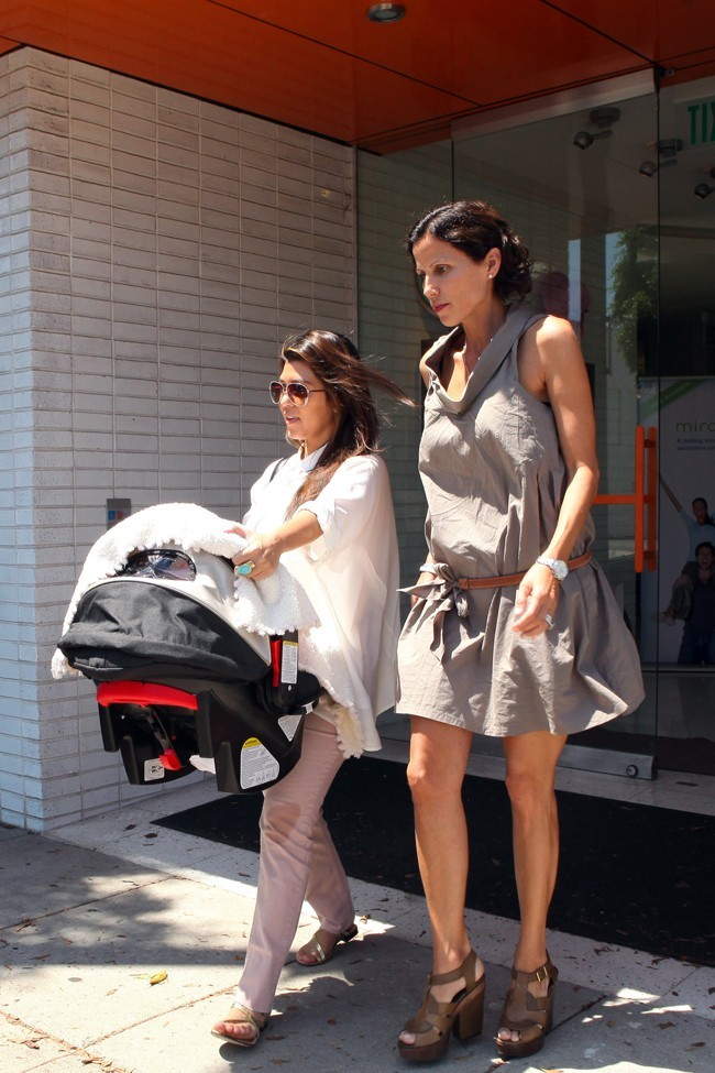 Kourtney Kardashian, Los Angeles, 22 aout 2012.